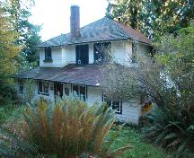 Exterior view of the Bole House, 2004; City of Port Moody, 2004