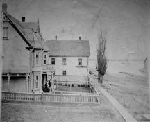 Side view of Capt. Malcolm MacDonald House; Marion Clark Collection