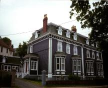 View of main facade, facing east, 3 Park Place, St. John's, NL.  Photo taken 1990s.; HFNL 2007