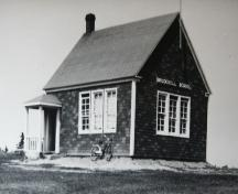 Archive image of school, c 1950s; Donna Collings Collection