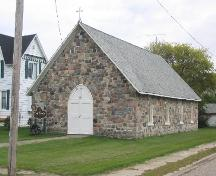 View of Holy Trinity Anglican church from Southwest; Government of Saskatchewan, Brett Quiring, 2004