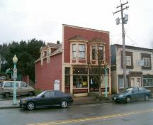 Exterior view of the P. Burns and Co. Butcher Shop, 2004; City of Port Moody, 2004