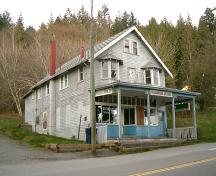 Exterior view of the Pleasantside Grocery, 2004; City of Port Moody, 2004