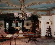 Interior view of Glanmore / Phillips-Faulkner House, showing surviving original interior detailing, 2002.; Parks Canada Agency/ Agence Parcs Canada, 2002
