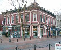 Exterior view of the Byrnes Block; City of Vancouver, 2004