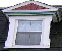 Showing pedimented dormer detailing; City of Charlottetown, Natalie Munn, 2005