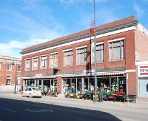 Campbell Block, Lacombe; Alberta Culture and Community Spirit, Historic Resources Management, 2008