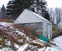 Stone outbuilding located directly behind main house, Lyle House, Port Clyde, 2008.; Department of Tourism, Culture and Heritage, Province of Nova Scotia, 2008