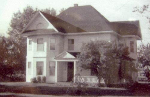Archive image of house, 1971