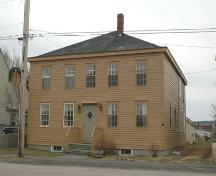 Front elevation of Bonnett House, Annapolis Royal, Nova Scotia, 2007.; Heritage Division, NS Dept. of Tourism, Culture and Heritage, 2007