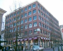 Exterior view of the Leckie Building; City of Vancouver, 2004