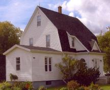 Showing northeast elevation; Alberton Historical Preservation Foundation, 2007
