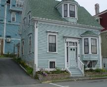 Young House, Old Town, Lunenburg, south façade, 2004; Heritage Division, NS Dept. of Tourism, Culture and Heritage, 2004