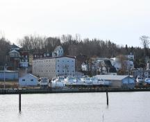 View of building from harbour; Province of PEI, 2007