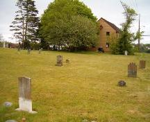 Old Meeting House cemetery, Barrington, NS, 2004.; Heritage Division, NS Dept. of Tourism, Culture and Heritage, 2004