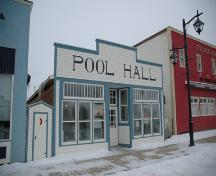Vilna Pool Hall and Barbershop; Alberta Culture and Community Spirit, Historic Resources Management, 2006