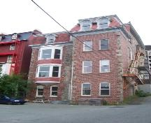 Rear facade of Devon House, 059 Duckworth Street, St. John's, NL.  Photo taken July 2006.; HFNL/ Deborah O'Rielly 2006.