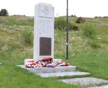 Photo view of War Memorial, Branch, NL, 2008; Andrea O'Brien, HFNL, 2008