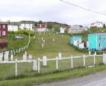 View from Gut Path of The Old Graveyard, Branch, NL, 2008.; Andrea O'Brien, HFNL, 2008