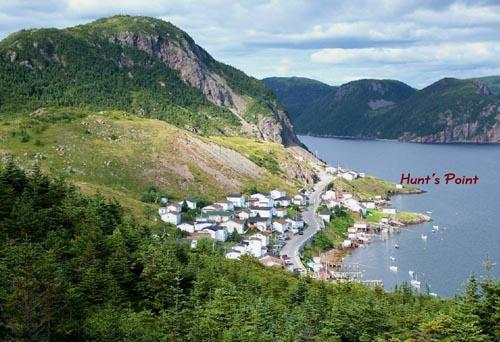 Hunt's Point, Harbour Breton, NL.