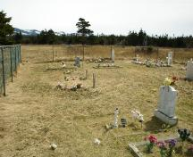 View of the Old Roman Catholic Cemetery, St. Paul's, NL.; 2009 Town of St. Paul's
