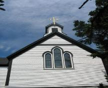 Front elevation, St. John Evangelist Anglican Church, Bell Island, LaHave Islands, Lunenburg County, Nova Scotia, 2006.; Heritage Divisions, Nova Scotia Department of Tourism, Culture and Heritage, 2006