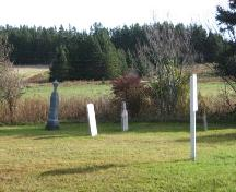 Overview of cemetery; PEI Genealogical Society, 2007