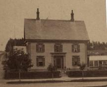 Holy Trinity Rectory, Yarmouth, Nova Scotia, ca. 1875, prior to its purchase by Holy Trinity Parish.; Courtesy Yarmouth County Museum and Archives