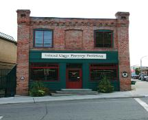 Exterior view of the Inland Cigar Factory, 2007; City of Kamloops, 2007
