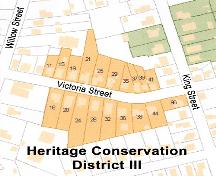 Map of Heritage Conservation District III, Truro, 2004; Town of Truro, 2004