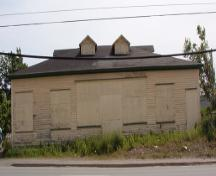 Front facade of Butler's Store, Conception Bay Highway, Foxtrap, taken 2004.; Heritage Foundation of Newfoundland and Labrador, 2004