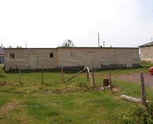 View of Butler's Store, located at the rear of the property, Foxtrap, CBS. Photo taken 2004.; HFNL 2009