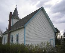 View of Markerville Lutheran Church, Red Deer County (October 2, 2007); Red Deer County