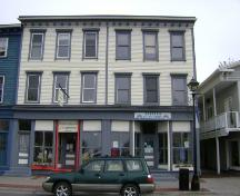 This photograph shows a contextual view of the building, 2007; Town of St. Andrews