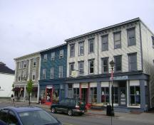 This photograph shows some of the Water Street streetscape, 2007; Town of St. Andrews