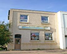 Primary elevation, from the south, of the Law Office Building, Swan River, 2007; Historic Resources Branch, Manitoba Culture, Heritage, Tourism and Sport, 2007