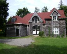 This photograph shows the carriage house which was also designed by the Maxwell's, 2007; Town of St. Andrews