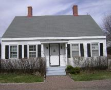 This photograph illustrates the front façade of the home, 2008; Town of St. Andrews