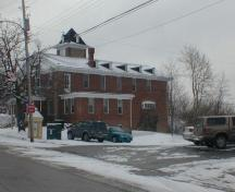 Town Hall, Annapolis Royal, west elevation, 2005; Heritage Division, NS Dept. Tourism, Culture and Heritage, 2005