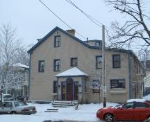 Showing eastern elevation at 11 Pownal Street; City of Charlottetown, Natalie Munn, 2005