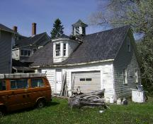 "This photograph shows the ""penny school"" attached to the rear of the Seaside Inn, 2008; Town of St. Andrews"