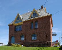 Showing north elevation; Province of PEI, Brian Simpson, 2007
