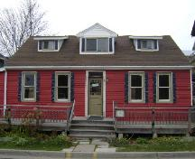 This photograph shows the front façade of the Doon Residence, 2008; Town of St. Andrews