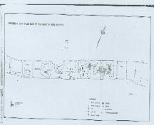 Of note are the remains of nine longhouses.; Archaeological Services Inc. n.d.