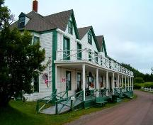 Front elevation, Ottawa House, Partridge Island, NS, 2005.; Heritage Division, Dept. of Tourism, Culture and Heritage, Province of NS, 2005