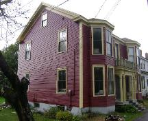 This photograph illustrates the side and front views of the home, 2008; Town of St. Andrews