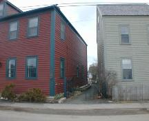 150 St. George Street, Annapolis Royal, south west elevation, 2005; Heritage Division, NS Dept. of Tourism, Culture and Heritage, 2005