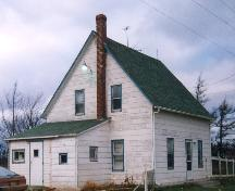 Showing simple single gable design; Province of PEI