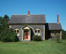 The Solomon Bowlby House, Upper Clements, NS, front elevation, 2009.; Heritage Division, NS Dept. of Tourism, Culture and Heritage, 2009