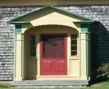 The Solomon Bowlby House, Upper Clements, NS, front entrance, 2009.; Heritage Division, NS Dept. of Tourism, Culture and Heritage, 2009